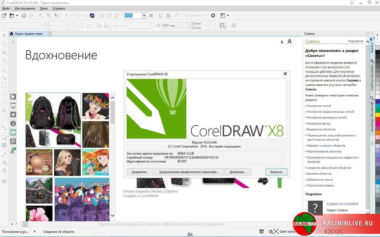 CorelDraw X8 торрент