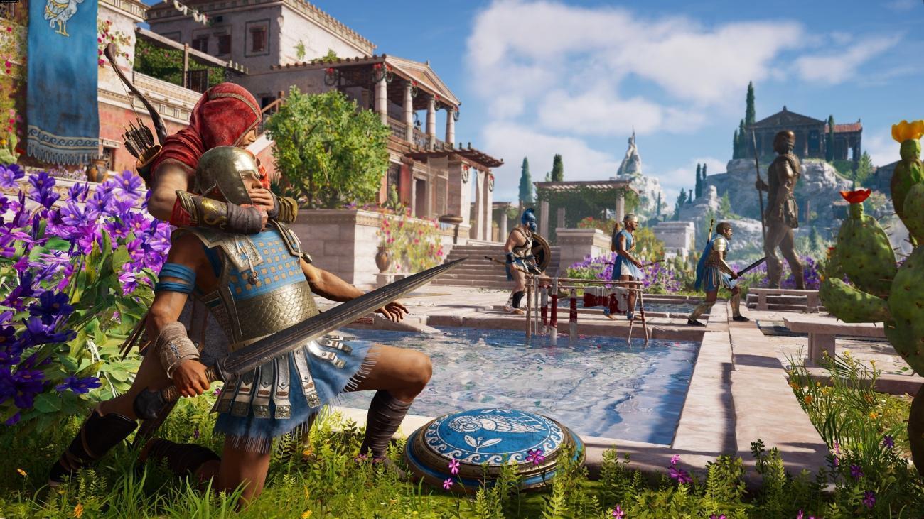 Установка игры Assassin's Creed Odyssey